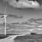 Wind Turbine in the Landscape