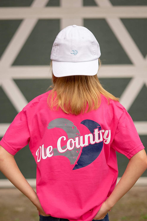 Comfort Color Tee Bright Pink Youth