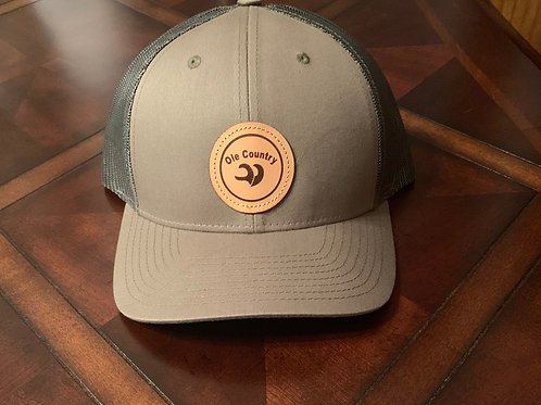 Richardson Trucker Hat with Leather Patch