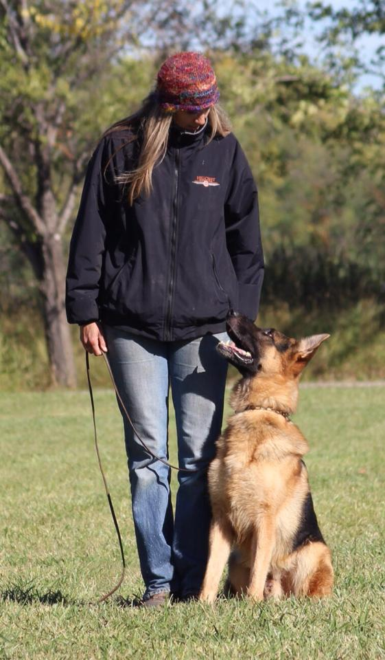 Myckk with Heidi