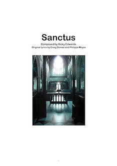Sanctus :: Score (Hardcopy - Printed A3)