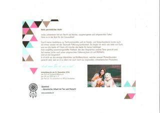 Einladung zur Eröffnung der Primafu Verkaufsstelle