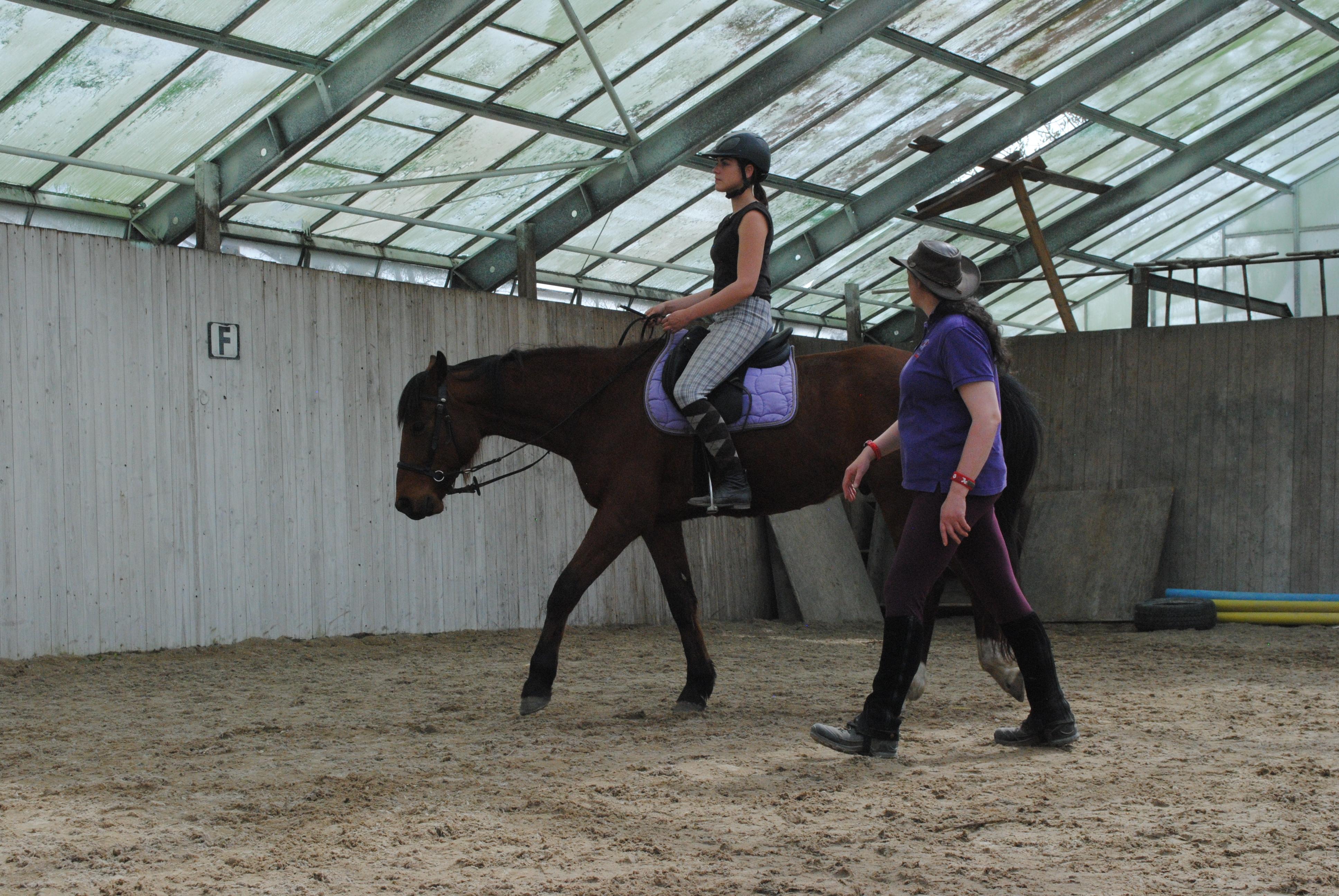 Körperwahrnehmung auf dem Pferd