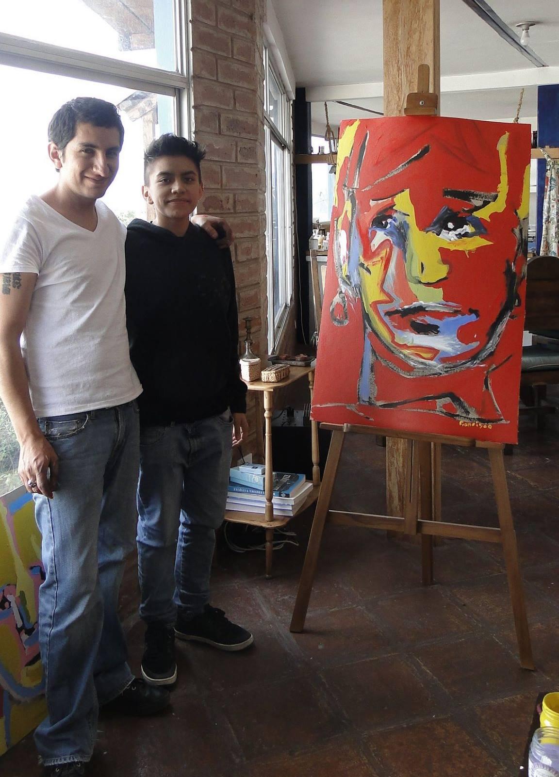 Con Francisco Carrasco Maldonado