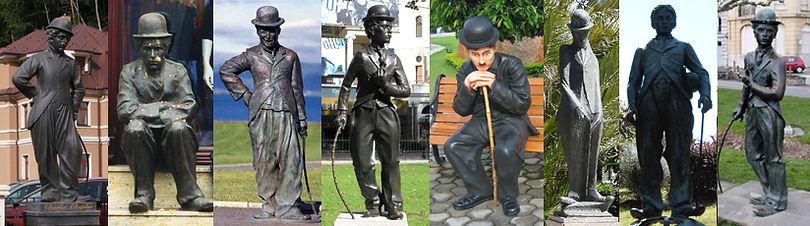 Charlie Chaplin Statues