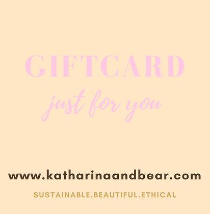 Katharina & Bear GIFT CARD