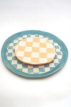 bluewhite check and yellow white check plates katharina ceramics_edited_edited.jpg