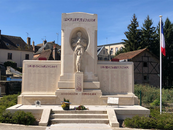 Monument aux morts de Saint-Fargeau