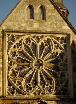 Rosace de l'église Saint-Ferréol