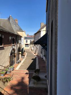 Ruelle du centre-bourg