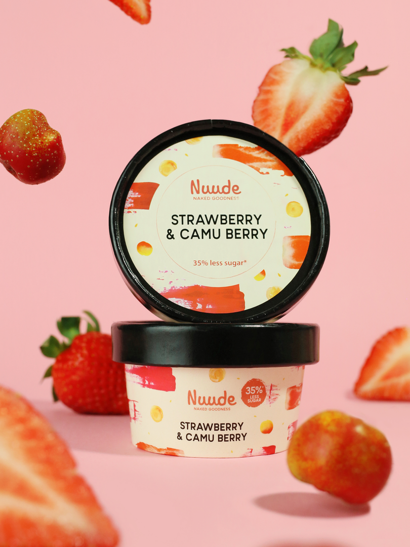 Nuude Strawberry & Camu Berry