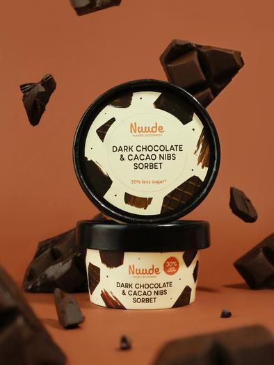 Dark Chocolate & Cacao Nibs Sorbet