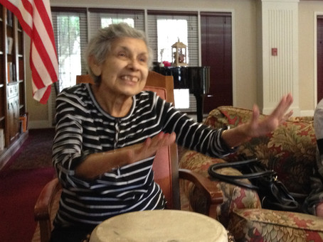 Drumming Is A Great Activity To Promote Wellness In Seniors