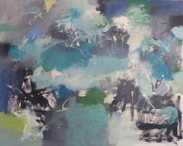 "oil on canvas, 48"" x 60"""