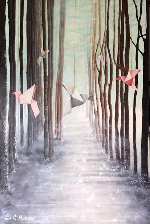אוריגמי ביער