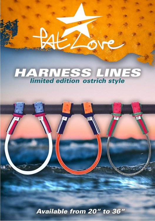 Patlove ostrich style harness lines