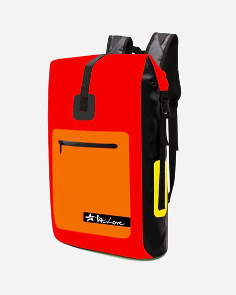 PatLove Waterproof Backpack 25 lt. Red Orange 2020
