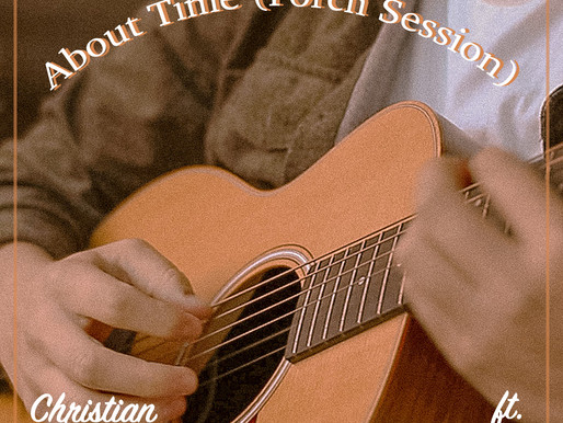 "Christian Sparacio Releases Acoustic Version of ""About Time"" (ft. telco)"