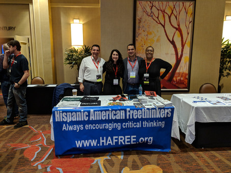 HAFree at the American Atheists Convention in Oklahoma.