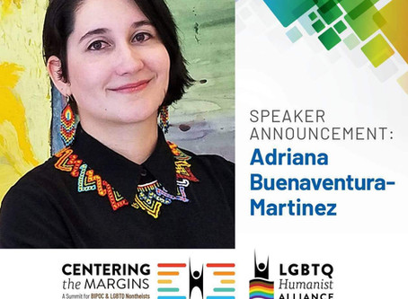 HAFree was present at the ¨Centering the Margins: A Summit for BIPOC & LGBTQ Nontheists¨