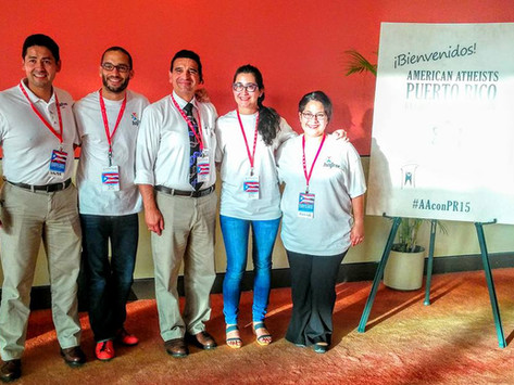 HAFree was present at the 2015 American Atheists Regional Convention in Puerto Rico