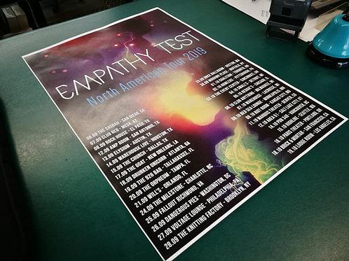 Ltd. Edition North American tour poster (100)