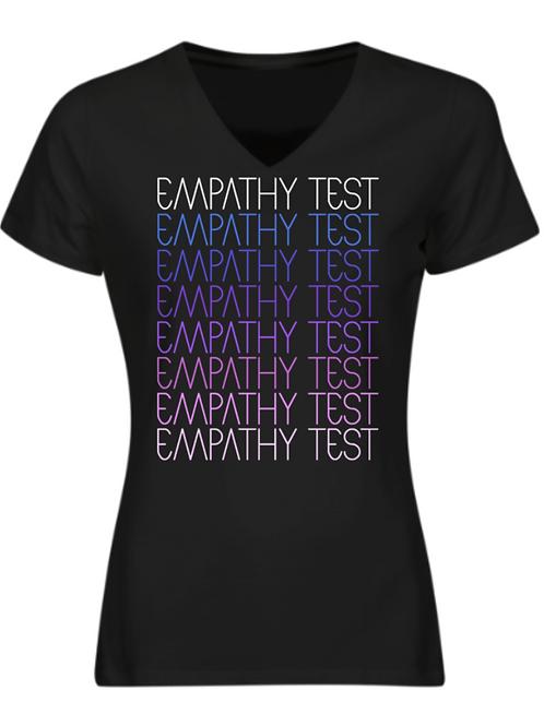 Ladies / Girly / Fitted Empathy Test Purple Rain T-Shirt