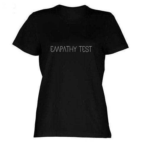 Ladies (Girly) Empathy Test Logo T-Shirt