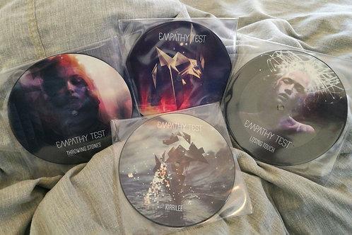 "4 x 7"" Ltd. Edition Picture Discs"