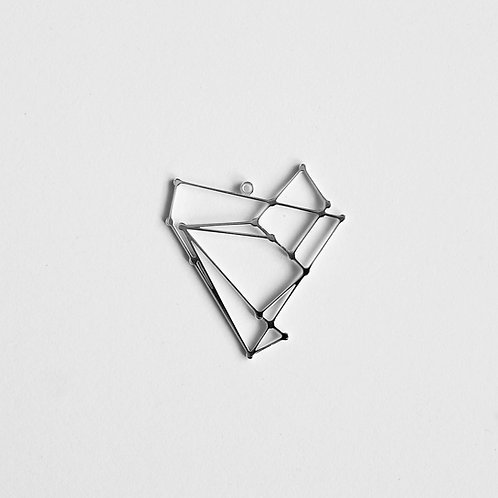 Pendant (no chain): Silver Empathy Test Constellation