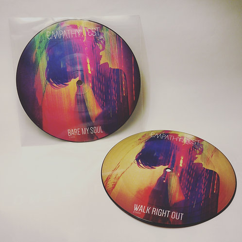 """Bare My Soul Limited Edition 7"""" Vinyl Picture Disc"""