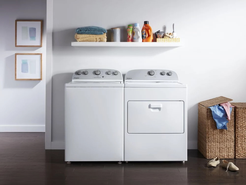 Top Load washer and dryer