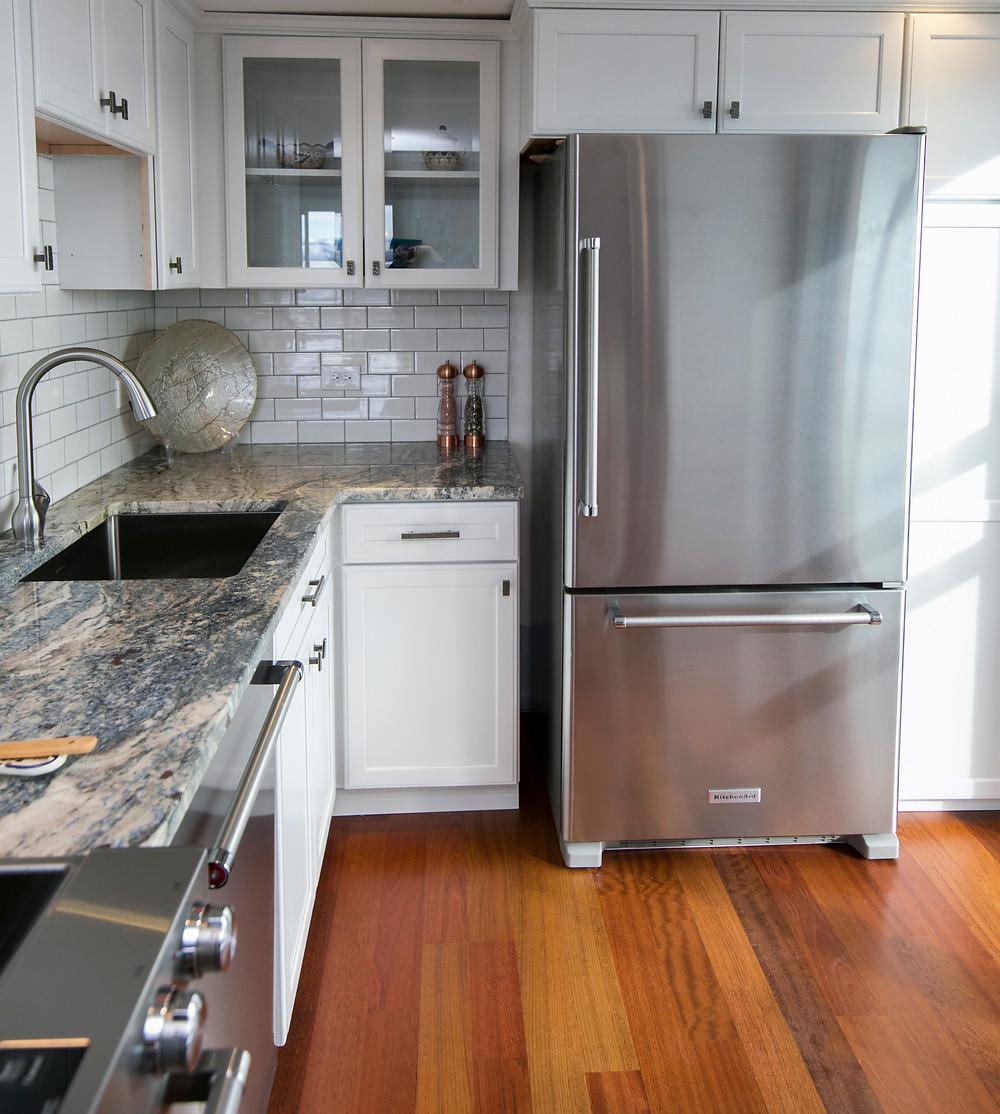 Bottom Mount Refrigerator Stainless Steel