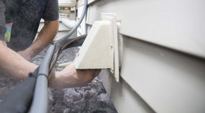 Cleaning Lint in Vent