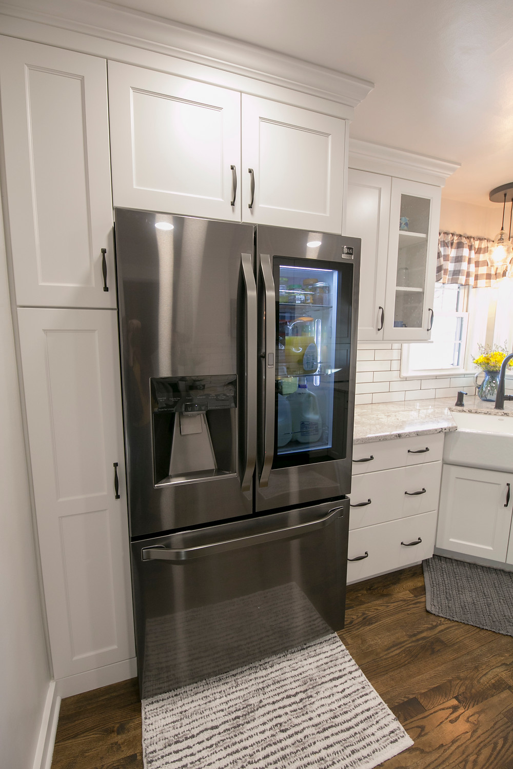 French Door Refrigerator Black Stainless Steel