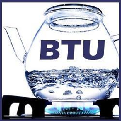 Water Boil BTU