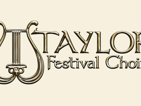 Partnership with Taylor Festival Choir