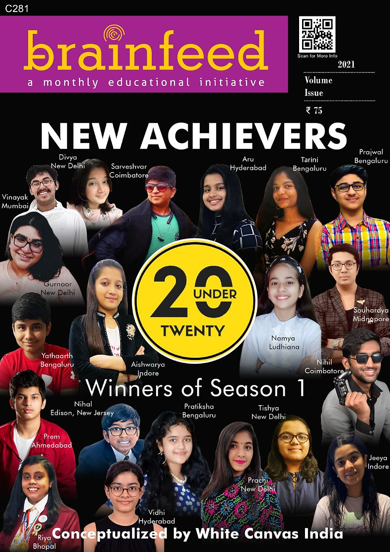 Top 20 Under 20 Brainfeed magazine