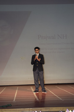 Presentation on Prajwal's Learnings and experiences throughout his Journey of Innovation