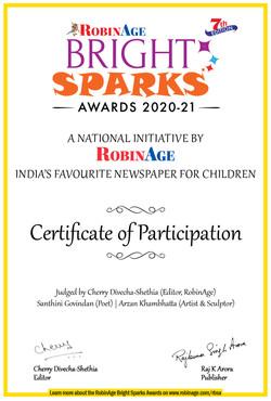Robin Age Bright Sparks