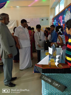 Biannual exhibition held at BGS NPS - 2018