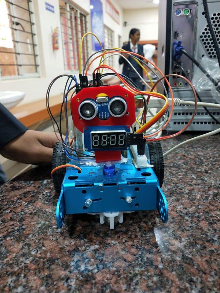 Self Driven Car Project