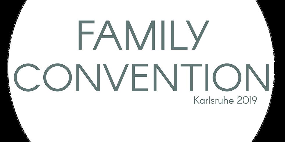 FamilyConvention 2019 Karlsruhe