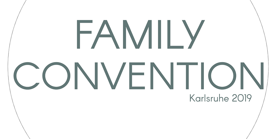 Family Convention 2019 in Karlsruhe