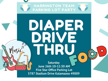 Join us for our Diaper Drive Event!
