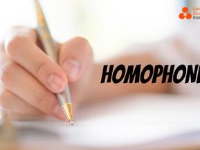 Indonesian Homophones