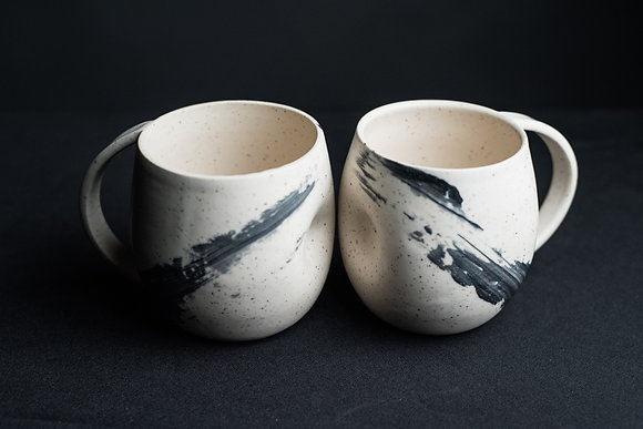 Rounded Thumbprint Mug 20oz