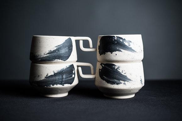 Geometric Mug Set
