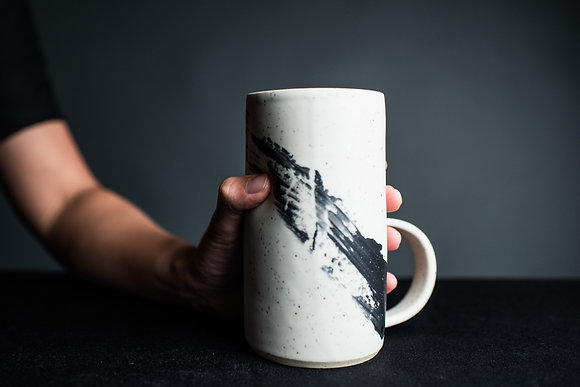 18-20oz Tall Thumbprint Mug