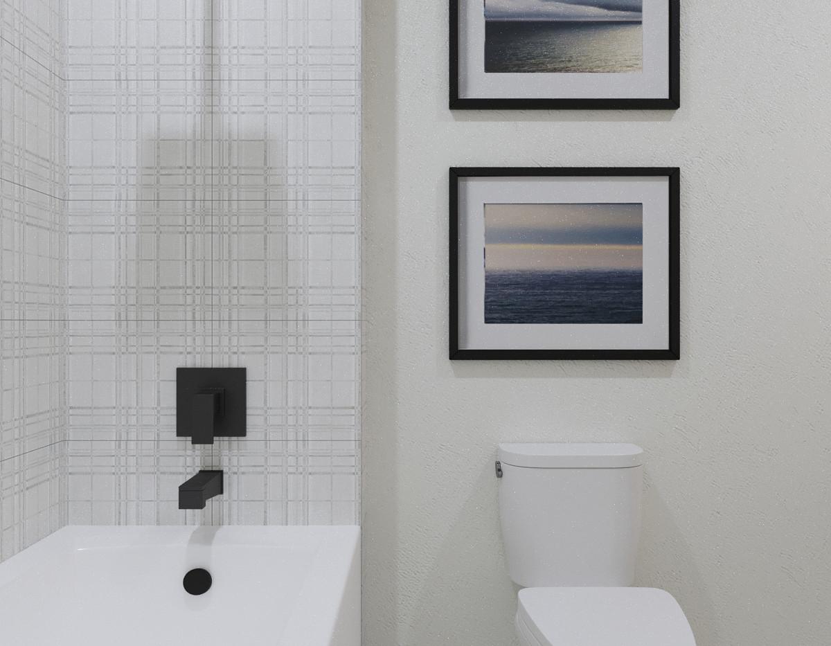 2nd Bath Side View